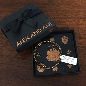 Alex and Ani brilliance wrap, copper spark RG